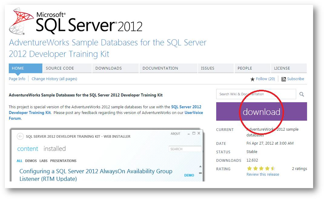 How To Install SQL Server 2012 Express, SSMS, And Sample